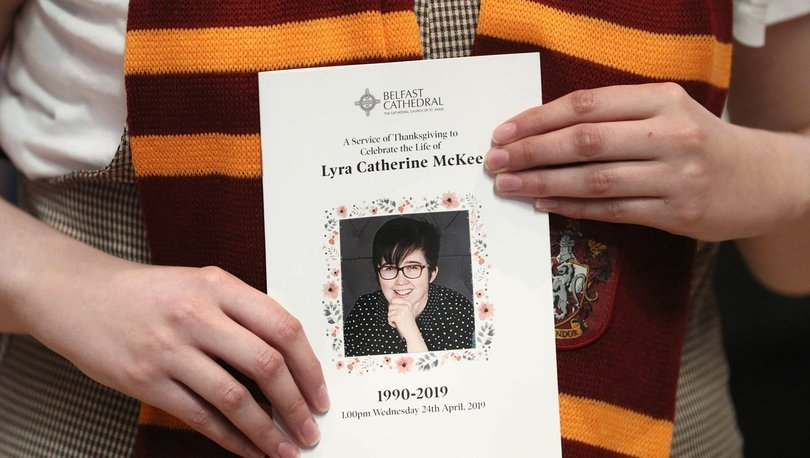 Kuzey İrlanda'da gazeteci Lyra McKee'nin öldürülmesiyle ilişkili 4 kişi tutuklandı