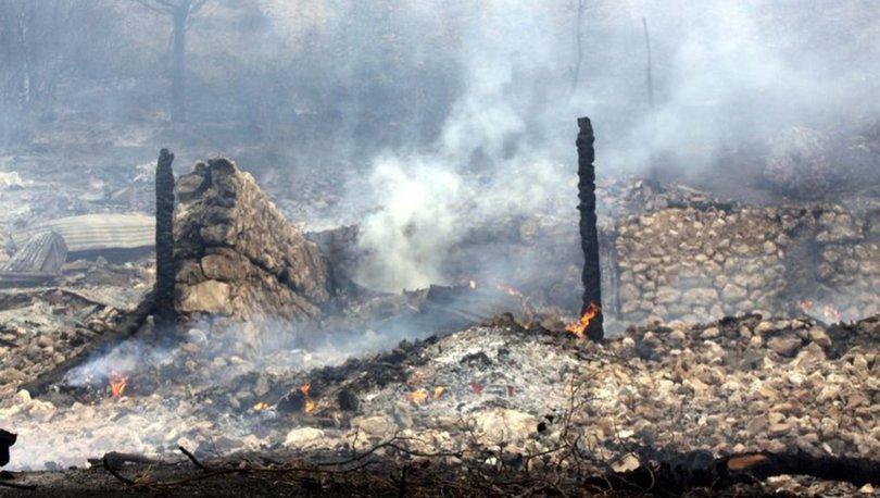 SON DAKİKA! Tunceli Ovacık'ta orman yangını