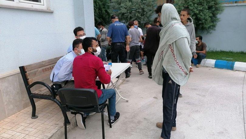 Ankara'da düzensiz göçmen operasyonu! - Haberler