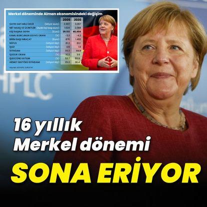 SON DAKİKA: Almanya'da Başbakan Angela Merkel'in 16 yıllık dönemi sona eriyor!