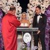 Evlendiler! Düğüne ünlü akını...