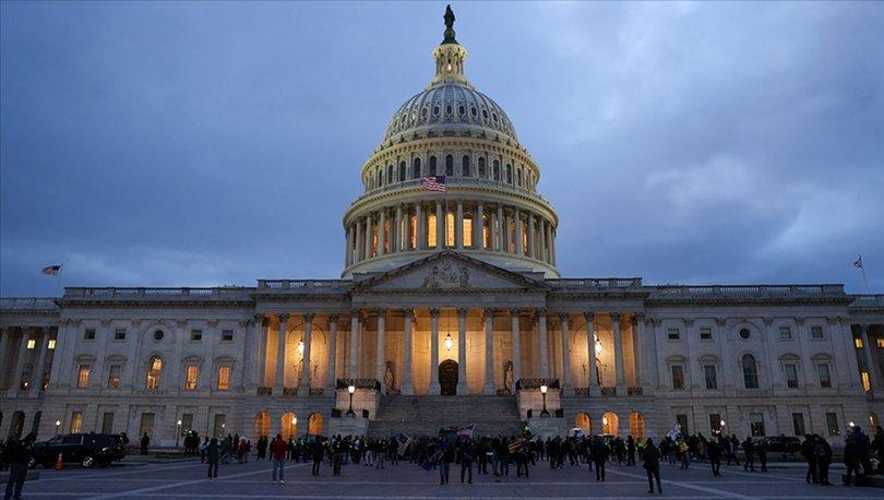 ABD Kongre Polisi Washington'daki gösteri için Ulusal Muhafız talebinde bulundu