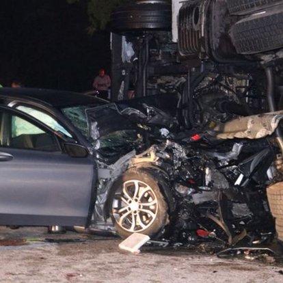 Edirne'de zincirleme trafik kazası: 6 yaralı