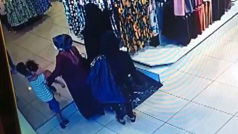 'Çarşaf' giyerek yankesicilik yapan kadın yakalandı