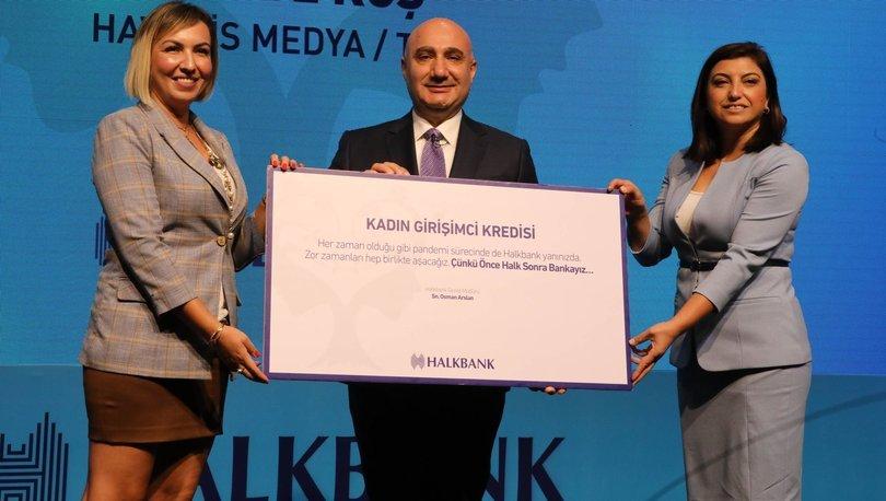 Halkbank'tan kadın girişimcilere 5 milyar TL'lik kaynak
