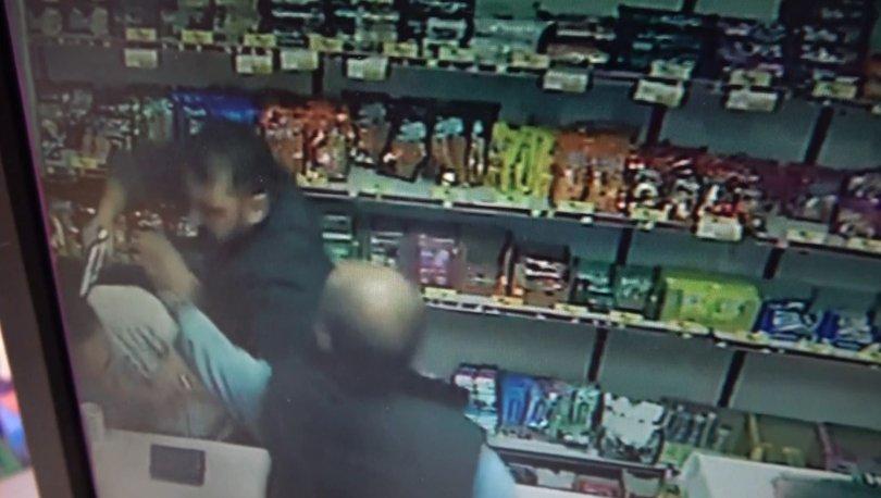 Son dakika: Rakip marketçinin kafasına silah dayadı! - Haberler
