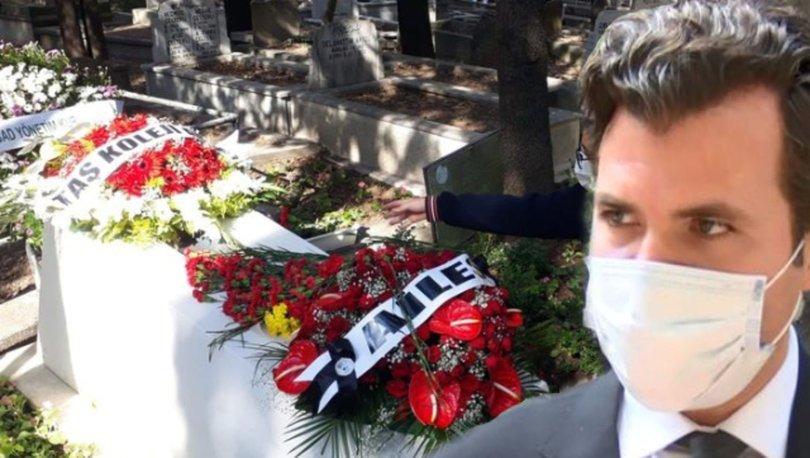 Tarık Akan ölümünün 5'inci yılında mezarı başında anıldı - Magazin haberleri