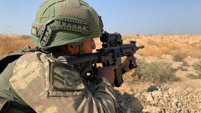 Son dakika haberi Suriye'de saldırı hazırlığındaki 8 terörist etkisiz!