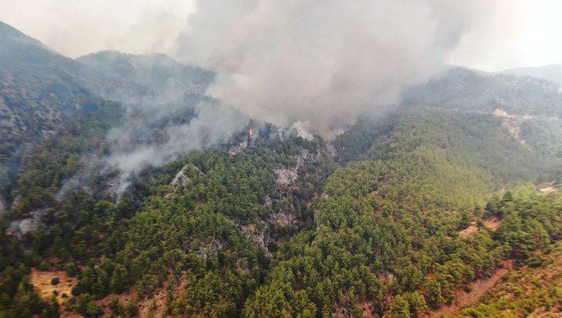 Marmaris'te korkutan orman yangını! - Haberler