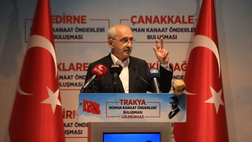 CHP Lideri  Kılıçdaroğlu, Roman vatandaşlarla bir araya geldi