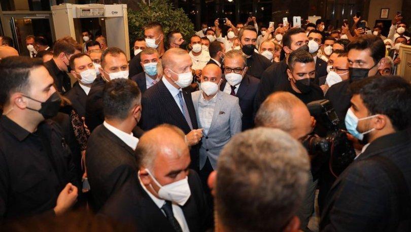 Cumhurbaşkanı Erdoğan, Mersin'de otel açılışı gerçekleştirildi