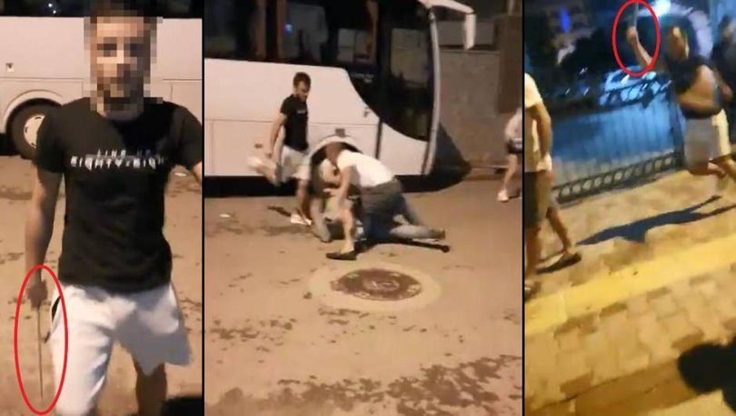 Dehşet anları! SON DAKİKA: Köpekleri besleyen aileye saldırı