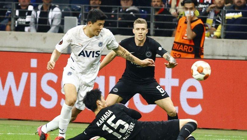 Eintracht Frankfurt: 1 - Fenerbahçe: 1 MAÇ SONUCU