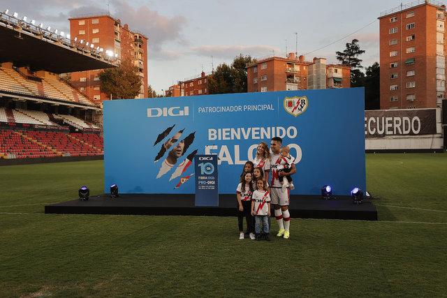 Falcao'dan imza töreninde Galatasaray sözleri