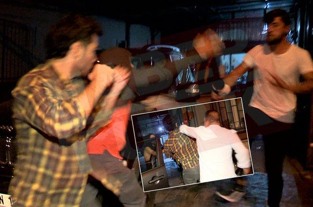 Oğulcan Eran Akay muhabirlere saldırdı! Şafak Pekdemir ile Oğulcan Eren Akay'ın olaylı gecesi - Magazin haberleri
