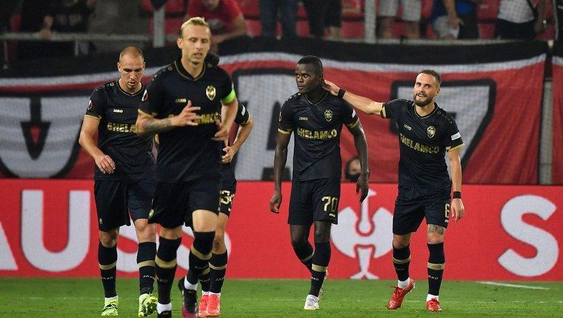 Olympiakos-Royal Antwerp: 2-1 MAÇ SONUCU