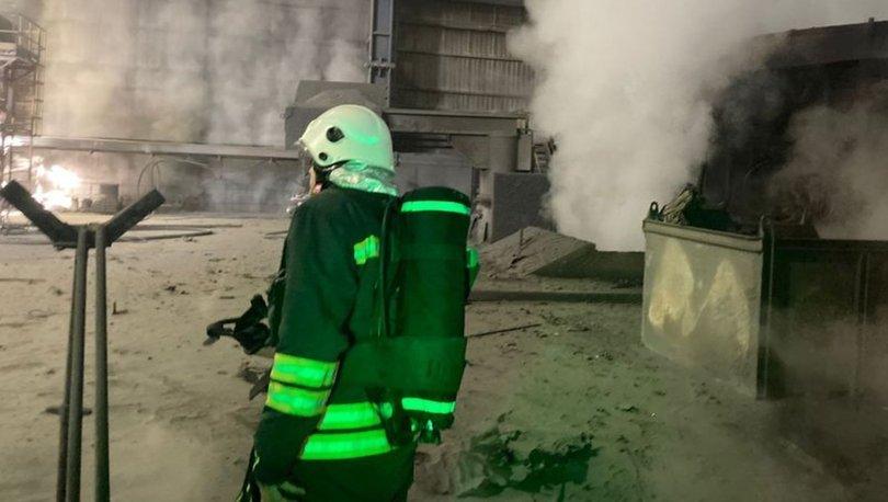 Bartında demir çelik fabrikasındaki patlamada 5 işçi yaralandı