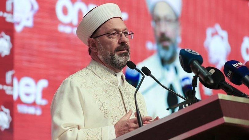 Son dakika... Diyanet İşleri Başkanlığına Prof. Dr. Ali Erbaş yeniden atandı