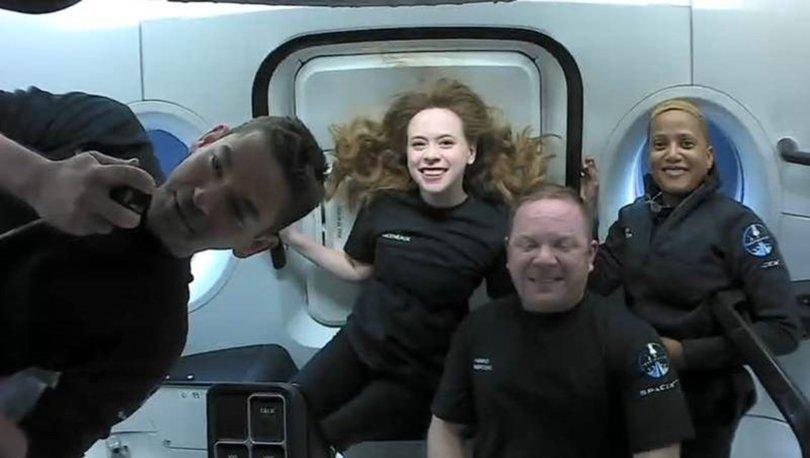 Son dakika: SpaceX'in 4 turistle dünya çevresindeki tarihi seyahatinden ilk fotoğraf!
