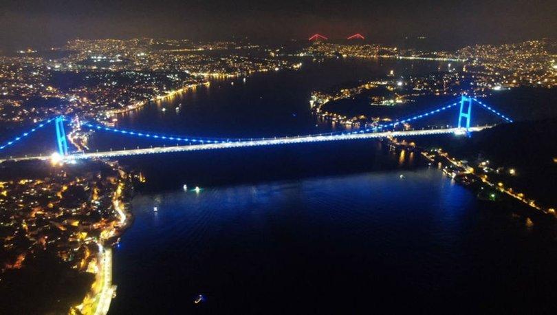 'Tak Bi Mavi Kravat' prostat kanseri için köprüyü maviye boya