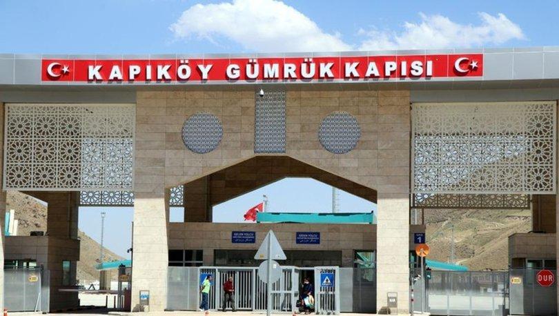 Van'da 19 aydır kapalı Kapıköy Gümrük Kapısı'ndan geçişler başladı