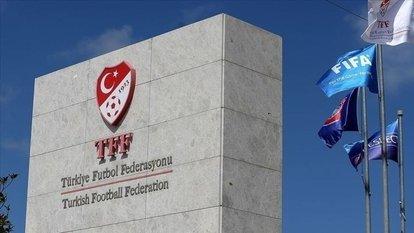 TFF'den statlara giriş şartlarıyla ilgili bilgilendirme