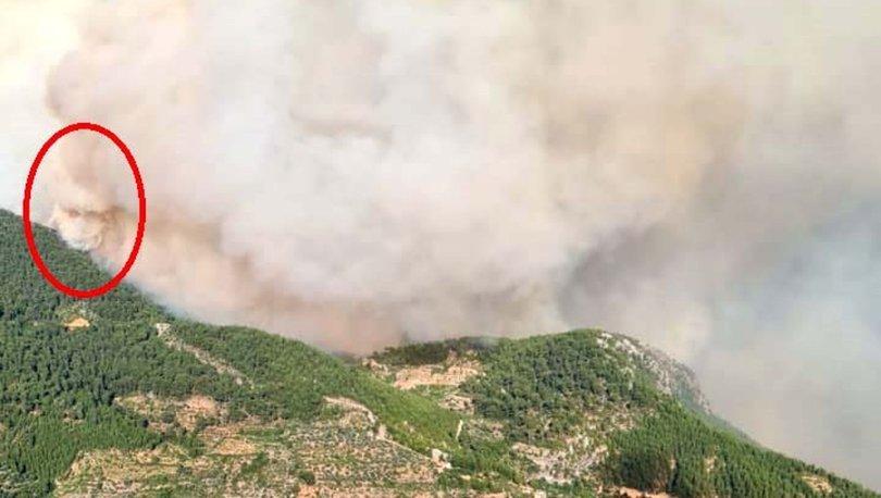SON DAKİKA: Antalya'daki 'yangın şeytanı' kamerada! - Haberler