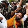 Hindistan'da gençlerden işsizlik protestosu