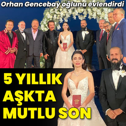 Gökhan Gencebay evlendi