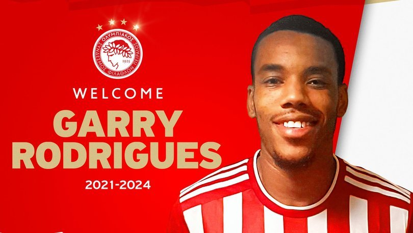 Olympiakos, Garry Rodrigues'i transfer etti
