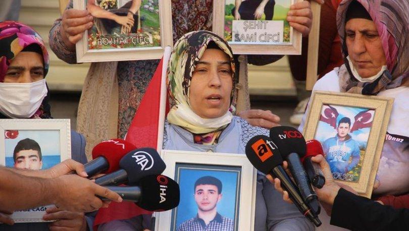 Evlat nöbetindeki anne: Oğlumun öldüğüne inanmıyorum