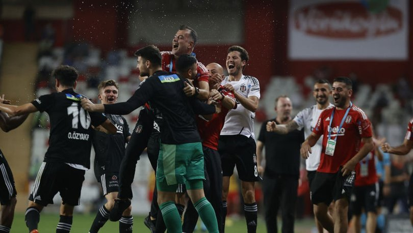 Antalyaspor: 2 - Beşiktaş: 3 MAÇ SONUCU