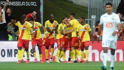 Lens, Lille'i tek golle geçti