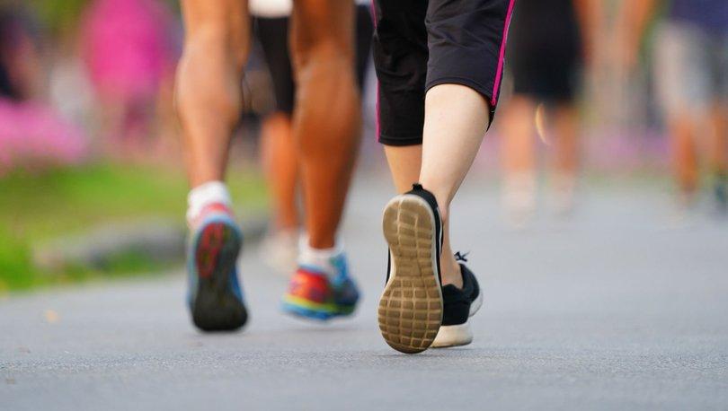 MÜJDE! Günde 7 bin adım atmak daha uzun ve sağlıklı bir yaşam sunuyor