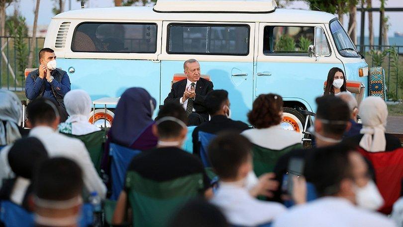 Son dakika... Cumhurbaşkanı Erdoğan gençlere sesleniyor