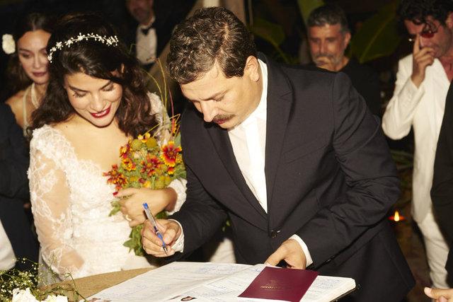 Mehmet Turgut ile Ada Sanlıman evlendi - Magazin haberleri