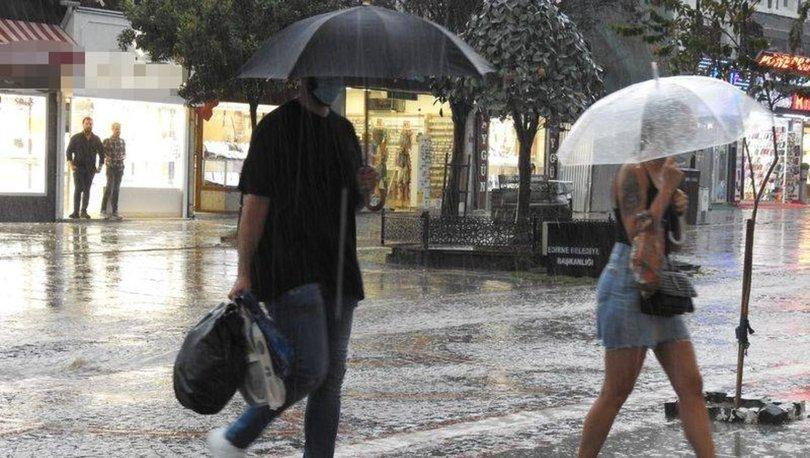 SAĞNAK YAĞACAK! Hava durumu son dakika: 3 bölge için yağmur uyarısı - 19 Eylül