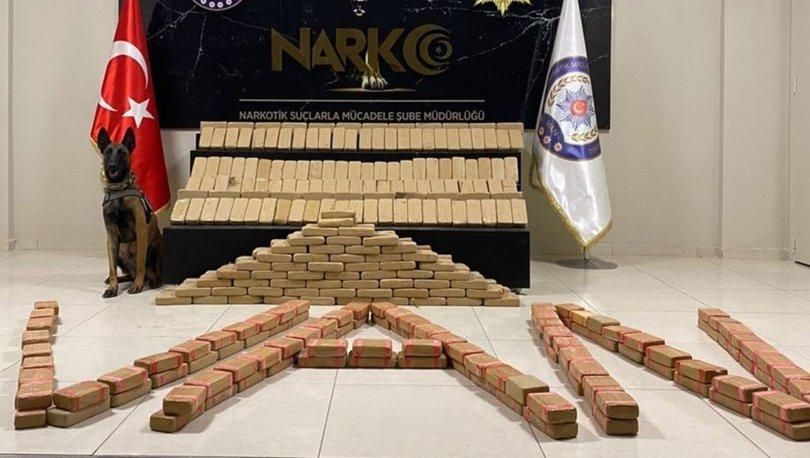 SON DAKİKA: İki ilde 282 kilo eroin ele geçirildi - Haberler