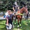 Beşiktaş'ta atlı polisler denetimde! İlgi çektiler