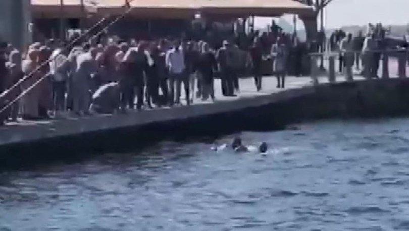 SON DAKİKA: Üsküdar sahilinde boğulmak üzere olan kadın için kurtarma seferberliği