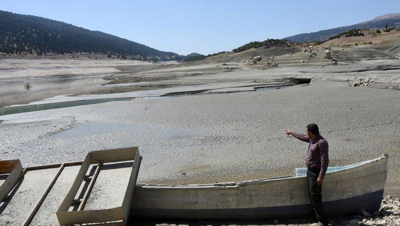 KORKUNÇ KURAKLIK! Antalya Çayboğazı Barajı'nın dibi göründü! - Haberler