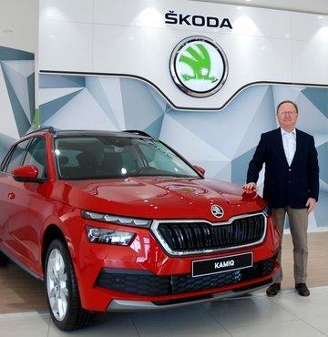 Yüce Auto Skoda Genel Müdürü Zafer Başar, çip sorunu nedeniyle bugün Avrupa