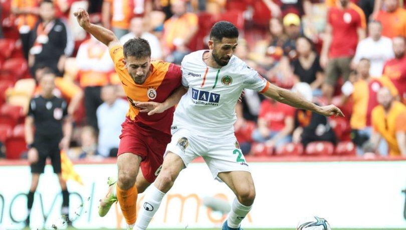 Galatasaray: 0 - Alanyaspor: 1 (MAÇ SONUCU)