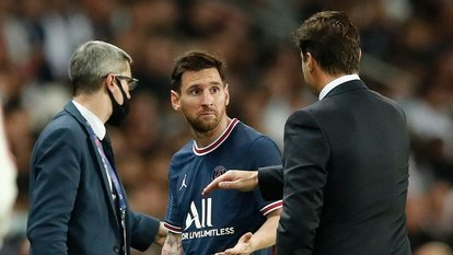 Messi, Pochettino'ya tepki gösterdi!
