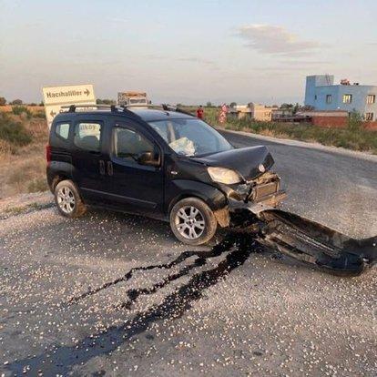 Manisa'da düğün dönüşü meydana gelen kazada 6 kişi yaralandı
