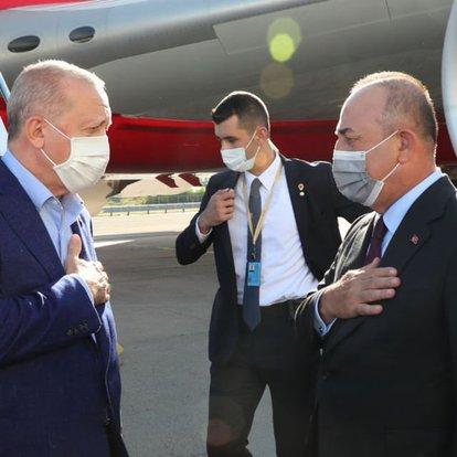 Cumhurbaşkanı Recep Tayyip Erdoğan, ABD'ye geldi