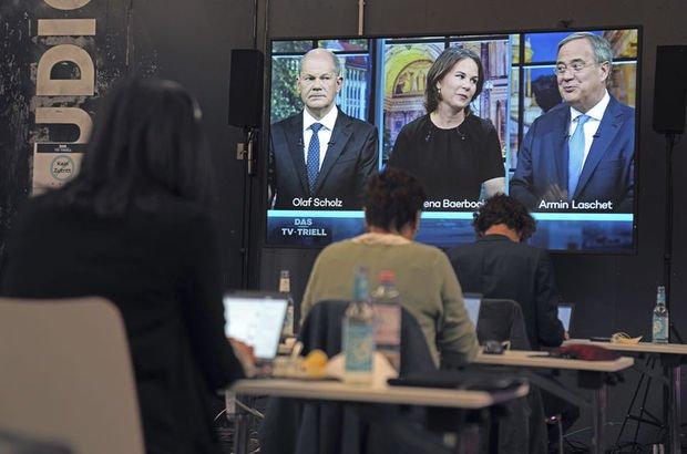 Almanya'da başbakanlık yarışında son canlı yayın