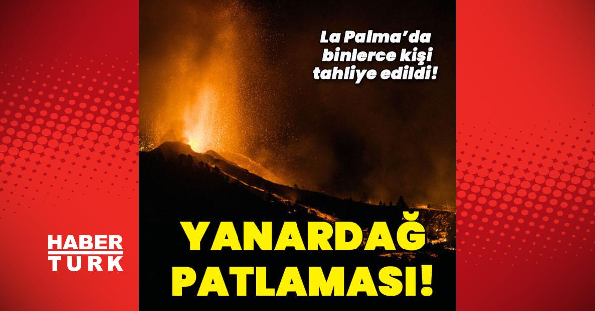 Kanarya Adaları'nda yanardağ faaliyete geçti!