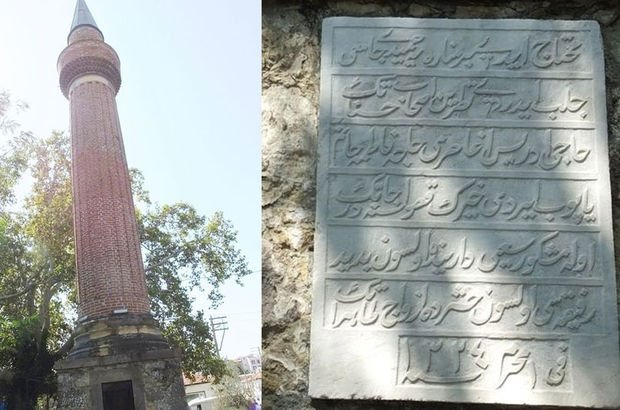 Cami gitti, minaresi kaldı! İlgi odağı oldu