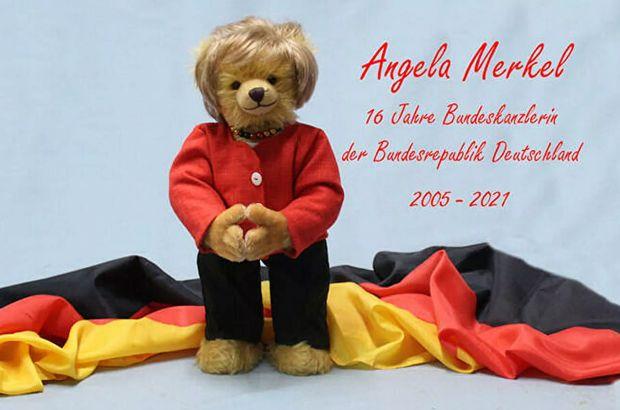 Merkel için hatıra oyuncağı